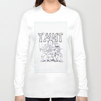 tmnt Long Sleeve T-shirts featuring TMNT by Jordan Beecham