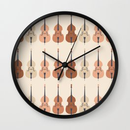 Terracotta Basses Wall Clock