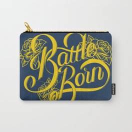 Battle Born - Blue & Gold Carry-All Pouch
