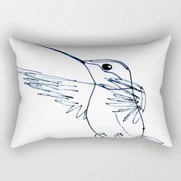 Hummingbird B Rectangular Pillow