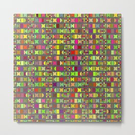 Geometric pattern 1b Metal Print
