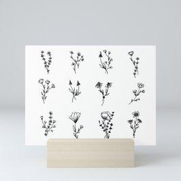 Bouquets Mini Art Print