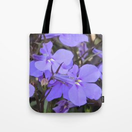 Crystal Lobelia Tote Bag