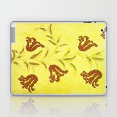 Flowers In Sketch Laptop & iPad Skin