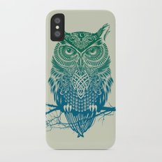Warrior Owl iPhone X Slim Case