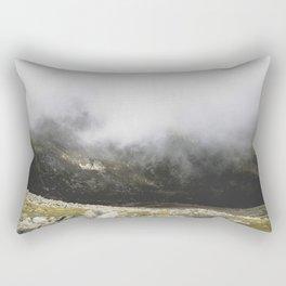 on the top Rectangular Pillow