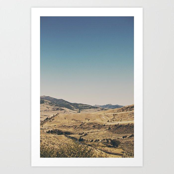 Beautiful Yellowstone Art Print