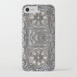 Vintage silver treasure box. iPhone Case