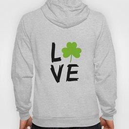 Love St Patricks Day Hoody