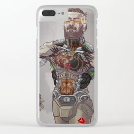 Conor Bot Clear iPhone Case