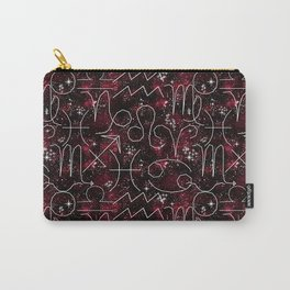 The magic of the zodiac. 2 Carry-All Pouch