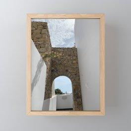 Greece Framed Mini Art Print