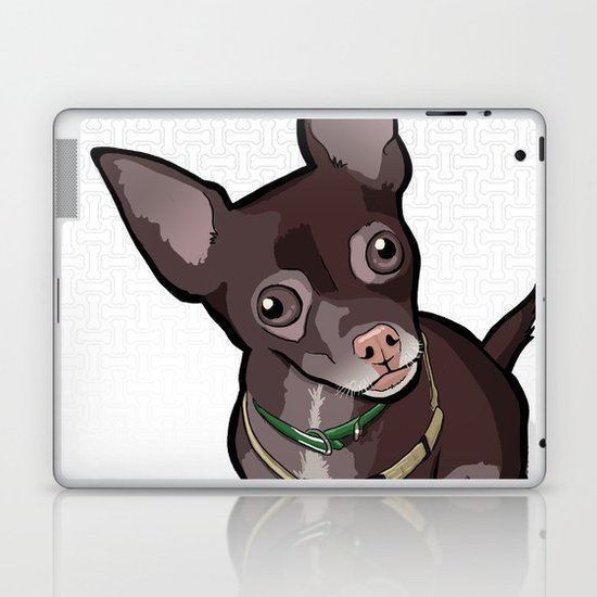Taco T. Man (Chihuahua) Laptop & iPad Skin