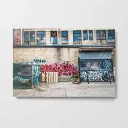 Around Back Metal Print