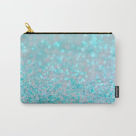 Sweetly Aqua Carry-All Pouch