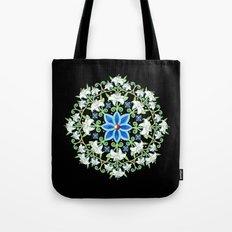 Folkloric Flower Crown Tote Bag