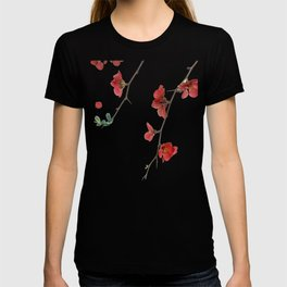 As They Blossom Cherry Blossoms (Color) T-shirt