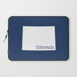 Colorado State in 2020 Navy blue Laptop Sleeve