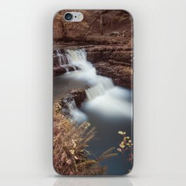 Unnamed waterfall in South Wales iPhone Skin