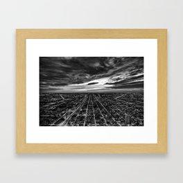 rapture, meet urbania Framed Art Print
