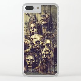 The Walking Dead Clear iPhone Case