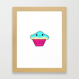 Cake cup Framed Art Print