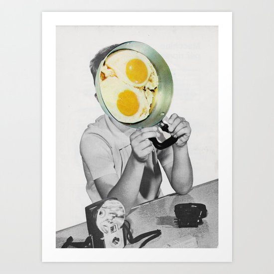 Goodmorning Art Print