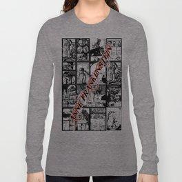 WHITE - A nne Frankenstein Book I - Resurrection Long Sleeve T-shirt