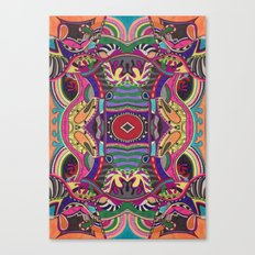 Psychedelic Daze Canvas Print