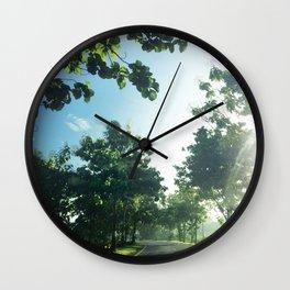 Mata Ayer Wall Clock