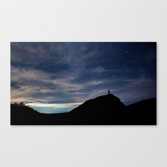 Meet you at the stars Canvas Print