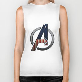 UNREAL PARTY 2012 THE AVENGERS  CAPTAIN AMERICA  Biker Tank