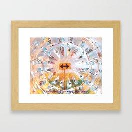 Choosing Time Framed Art Print