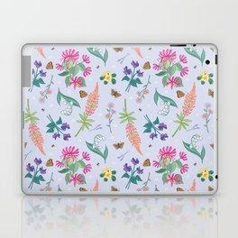 Violets Honeysuckle & Lavender Pattern Laptop & iPad Skin