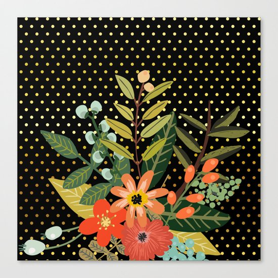 Flowers Bouquet #9 Canvas Print