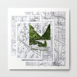 Green Desease Metal Print