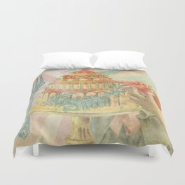 Let Them Eat Cake Duvet Cover