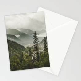 Mountain Valley of Forever Stationery Cards