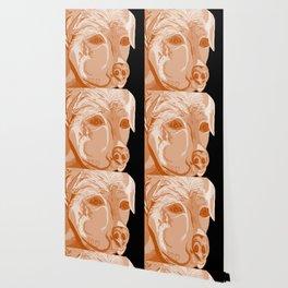 Rottweiler Sepia Tones Wallpaper