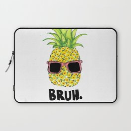 Bruh Laptop Sleeve
