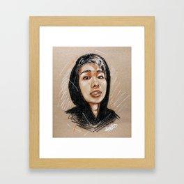 Kim Namjoon Framed Art Print