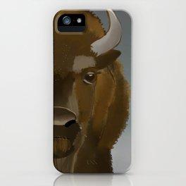 Where the Buffaloes Roam iPhone Case