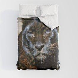 The Black Leopard Comforters