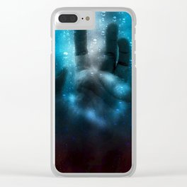 Halloween Hand Horror Clear iPhone Case