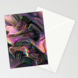440 Fractal Stationery Cards
