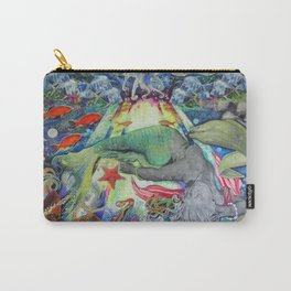 Syren the mermaid her  Carry-All Pouch