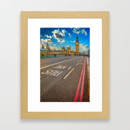 Big Ben Westminster Framed Art Print