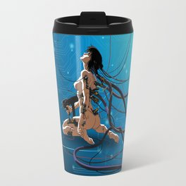 ghost in a shell Travel Mug