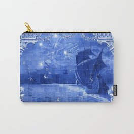 Portugal Azulejo Tile Carry-All Pouch