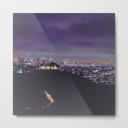 Tinseltown Metal Print